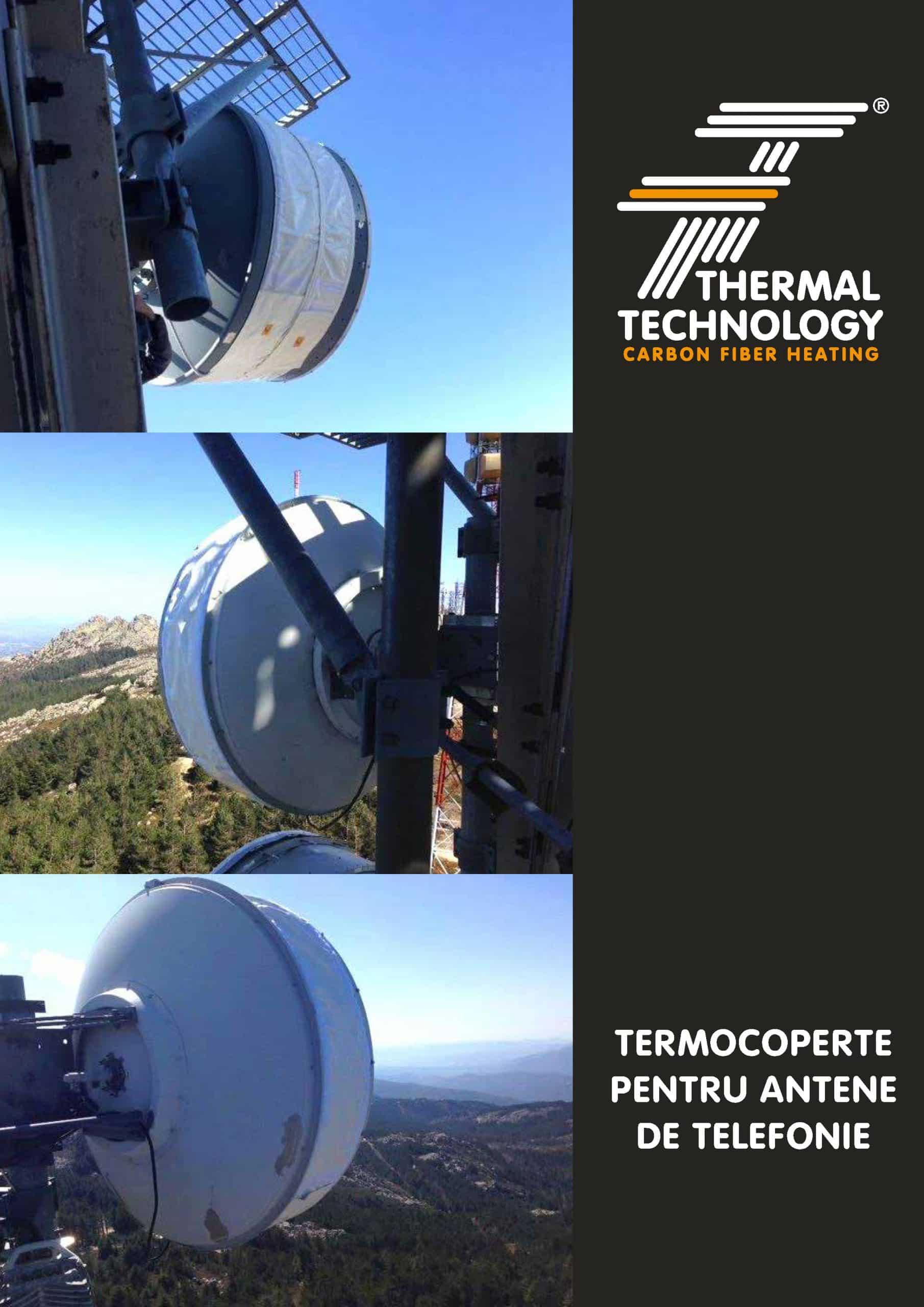 Termocoperte pentru antene de telefonie