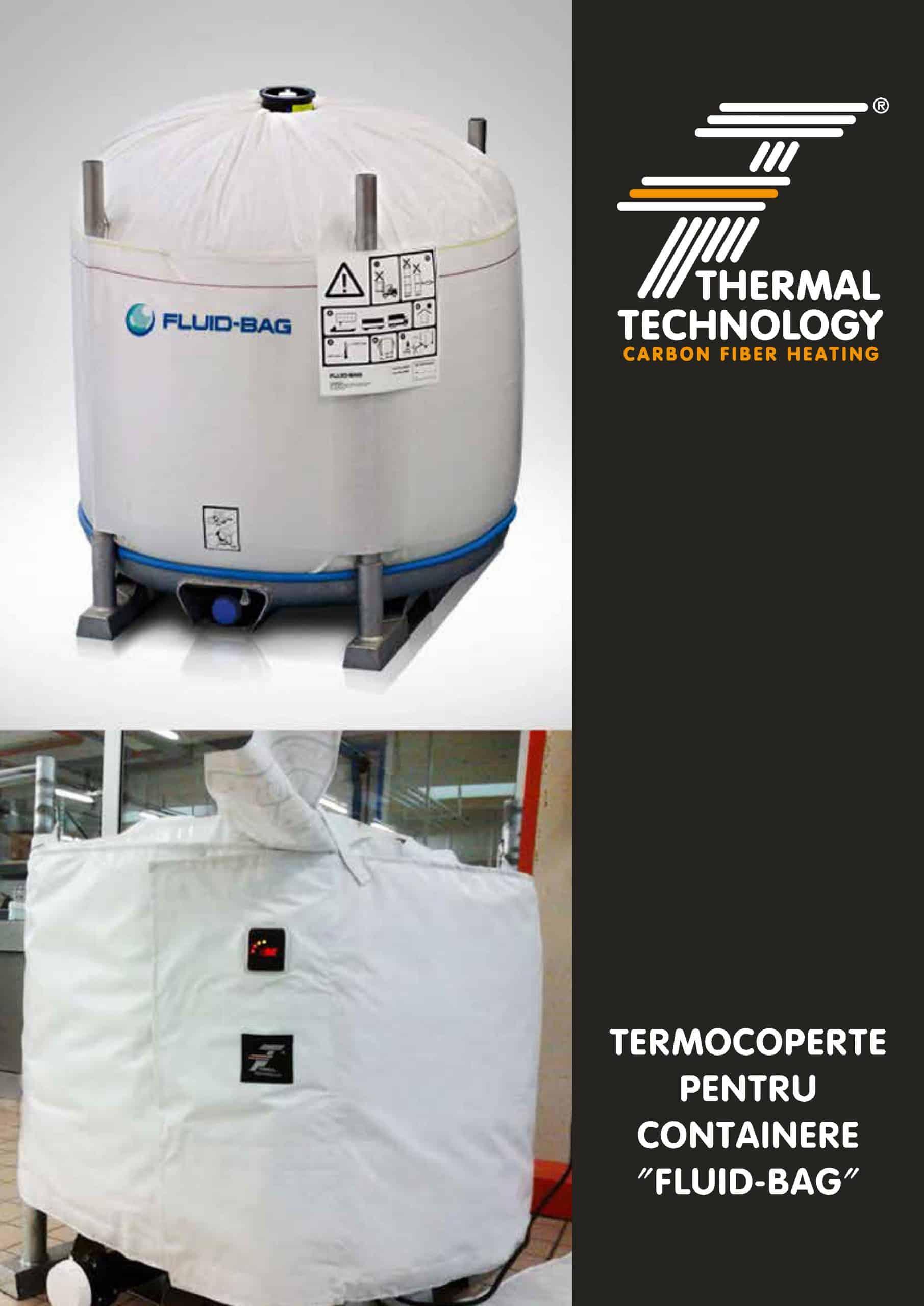 """Termocoperte pentru containere """"Fluid-bag"""""""
