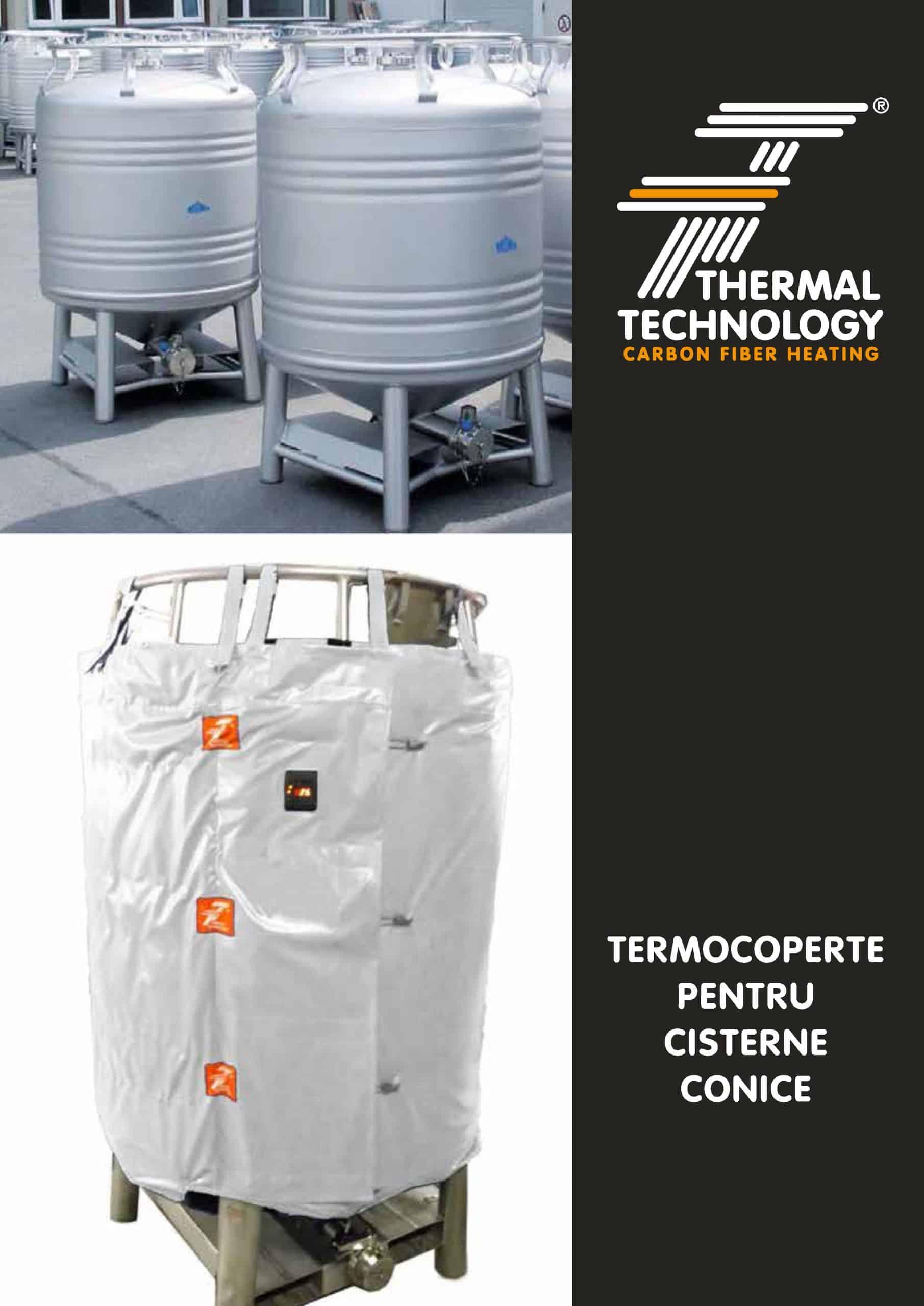Termocoperte pentru cisterne conice