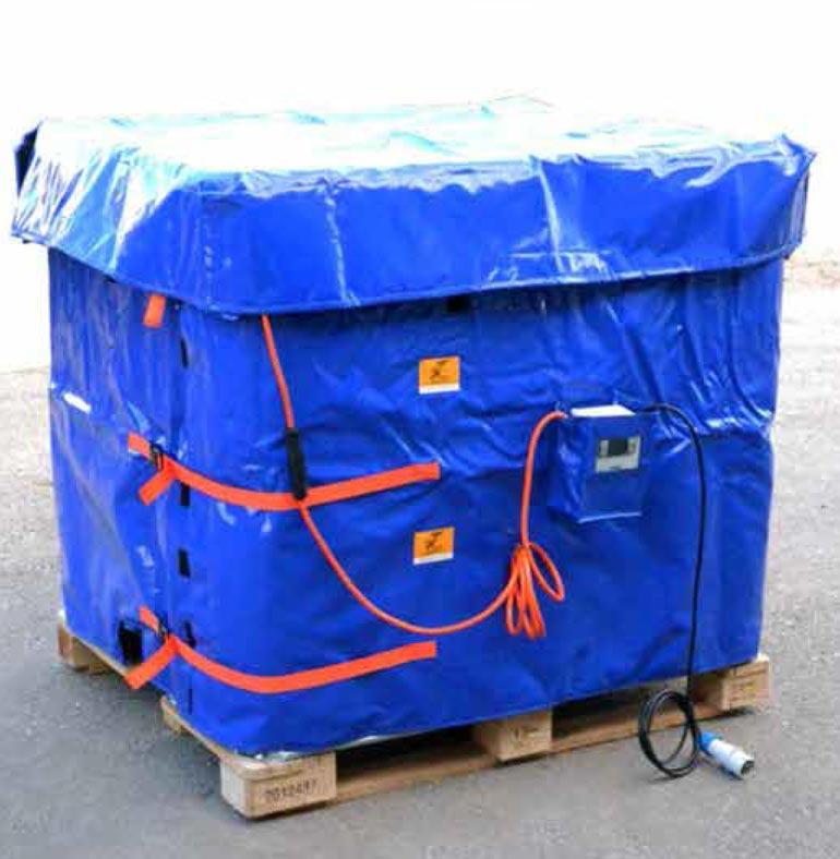 Termocoperta pentru cisterne
