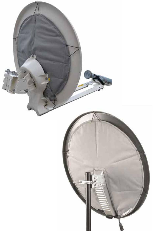 Termocoperte pentru antene parabolice